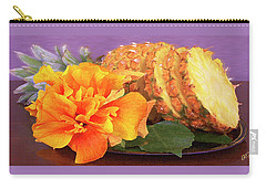 Tropical Delight Still Life Carry-all Pouch by Ben and Raisa Gertsberg