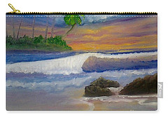 Carry-all Pouch featuring the painting Tropical Dream by Holly Martinson
