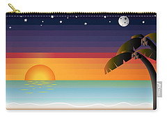 Tropical Dreams Carry-all Pouch
