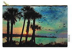Tropical Evening Carry-all Pouch