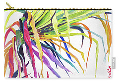 Tropical Fernery Carry-all Pouch by Rae Andrews