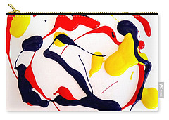 Tropical Fish Carry-all Pouch by Fred Wilson