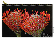 Tropical Flower Carry-all Pouch by Elvira Ladocki