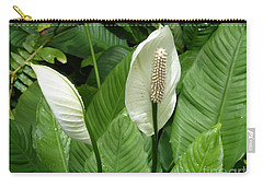 Tropical Flower Carry-all Pouch by Margaret Brooks