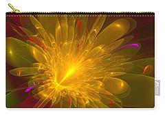 Carry-all Pouch featuring the digital art Tropical Flower by Svetlana Nikolova