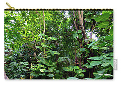Carry-all Pouch featuring the photograph Tropical Garden by Francesca Mackenney