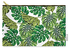 Tropical Haven  Carry-all Pouch by Mark Ashkenazi
