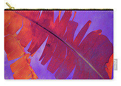 Carry-all Pouch featuring the photograph Tropical Heat by Ann Powell