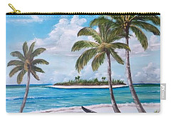 Tropical Island Carry-all Pouch