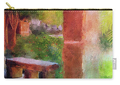 Carry-all Pouch featuring the digital art Tropical Memories by Lois Bryan