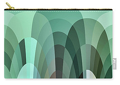 Tropical Mounds Abstract Carry-all Pouch