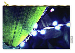 Carry-all Pouch featuring the digital art Tropical Night by Mindy Newman