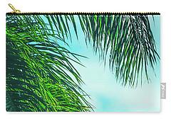 Tropical Palms Maui Hawaii Carry-all Pouch by Sharon Mau