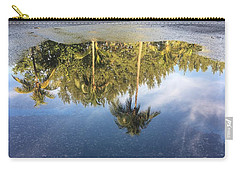 Tropical Reflections Delray Beach Florida  Carry-all Pouch
