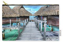 Tropical Resort Paradise Seascape Florida Keys 01 Carry-all Pouch