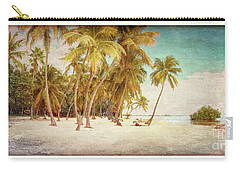 Tropical Shore Tinted Carry-all Pouch