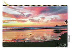 Tropical Sunset Island Bliss Seascape C8 Carry-all Pouch