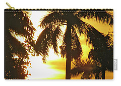 Tropical Sunset Palm Carry-all Pouch