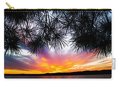 Tropical Sunset  Carry-all Pouch by Parker Cunningham