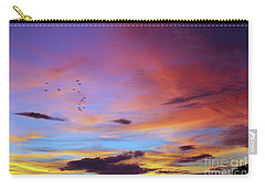 Tropical North Queensland Sunset Splendor  Carry-all Pouch by Kerryn Madsen-Pietsch