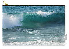 Tropical Treasure Coast Florida Seascape Wave 99 Carry-all Pouch