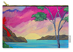 Tropical Volcano Carry-all Pouch