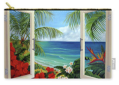 Tropical Window Carry-all Pouch