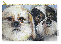 Trouble And Lexi Carry-all Pouch