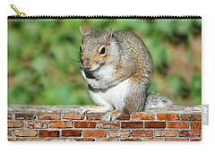 Carry-all Pouch featuring the photograph Trouble Brewing by Barbara S Nickerson