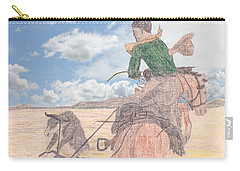 Trouble In Bunches Classic Carry-all Pouch