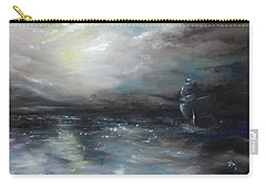 Carry-all Pouch featuring the painting Troubled Waters by Isabella F Abbie Shores FRSA