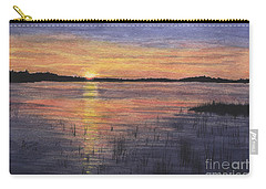 Trout Lake Sunset II Carry-all Pouch