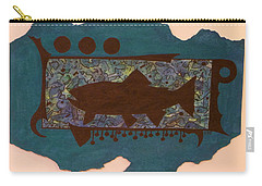 Trout Silhouette Carry-all Pouch