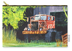 Truck Rusted Carry-all Pouch