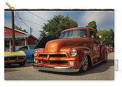 Carry-all Pouch featuring the photograph Trucking With Style by Tim Stanley