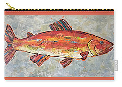 Trudy The Trout Carry-all Pouch