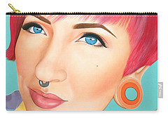 True Beauty - Jerica Wentzell Carry-all Pouch
