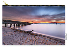 Carry-all Pouch featuring the photograph True Blue by Edward Kreis