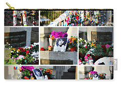 Carry-all Pouch featuring the photograph Jim Morrison True To Himself by Katie Wing Vigil