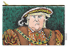 Trump As King Henry Viii Carry-all Pouch