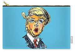 Trump Carry-all Pouch by Robert Yaeger