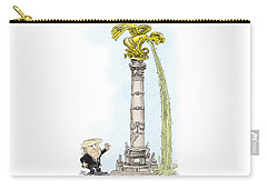 Trump Visits Mexico Carry-all Pouch