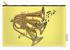 Trumpet Fanfare Carry-all Pouch