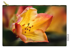 Trumpet Of Spring Carry-all Pouch by Mary Jo Allen