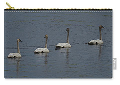 Trumpeter Swans Carry-all Pouch by Sandra LaFaut