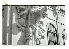 Carry-all Pouch featuring the photograph Trumpeting Angel by Guy Whiteley