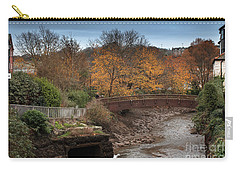 Carry-all Pouch featuring the photograph Truro River by Brian Roscorla