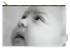 Trust Of A Child Carry-all Pouch by Joni Eskridge