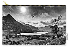 Tryfan And Llyn Ogwen Carry-all Pouch by Beverly Cash