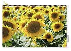 Carry-all Pouch featuring the photograph Trying To Feel Unique by Greg Fortier